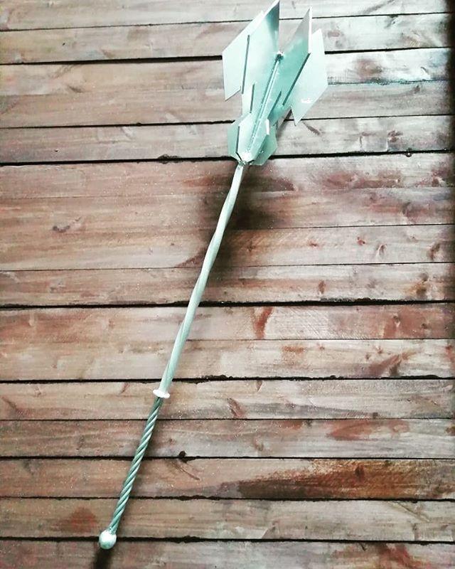 Изготовлен шестопер,  для любителей фэнтези. #шестопер #фэнтези #орудие #кузницауглебыча