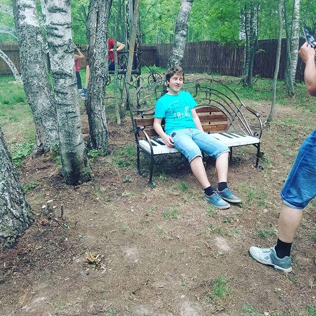 Нас посетили дети из летнего профессионального лагеря, из Глебово. #дети #лагерь #лето #кузницауглебыча