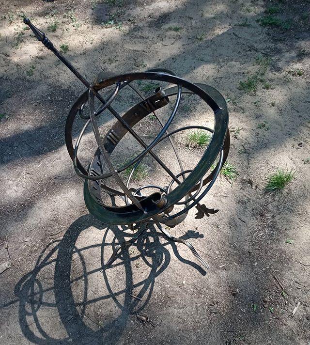 Солнечные часы, готов первый заказ в коттеджный поселок Коприно.